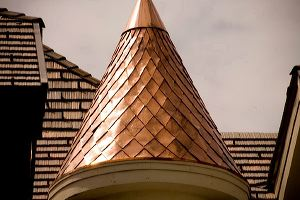residential shingles roof decorative